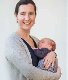Kathelijne, mama van Quint - baby van de eerste rookvrije generatie